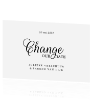 Change the Date kaart stijlvol