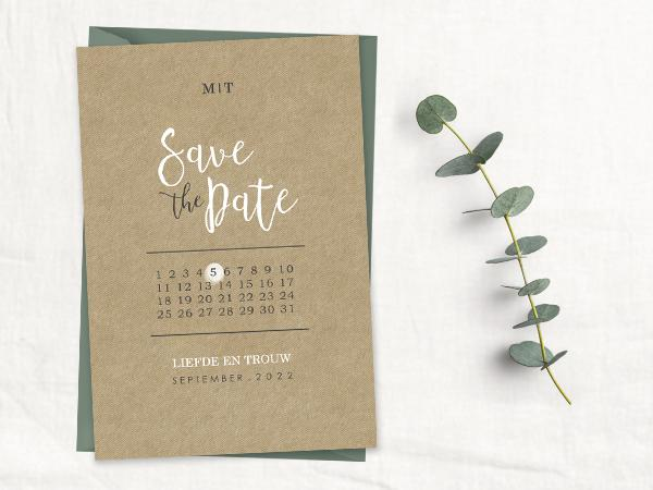 save the date tips