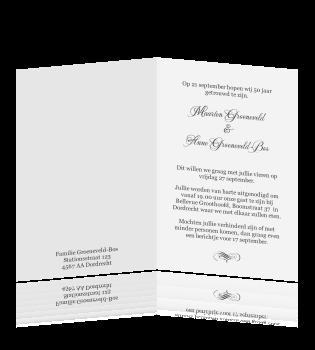 50 jaar getrouwd tekst kaart Kaart 50 Jaar Getrouwd Tekst   ARCHIDEV 50 jaar getrouwd tekst kaart