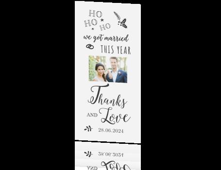 Bedankkaartkaart Met Foto En Grappige Tekst